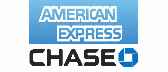 American Express and Chase