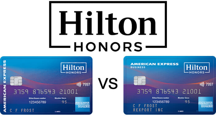 Detailed comparison hilton honors amex ascend vs hilton honors amex some colourmoves