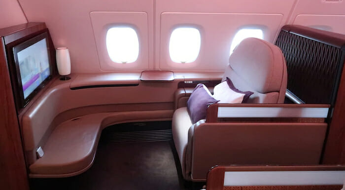 Qatar Airways A380 First Class