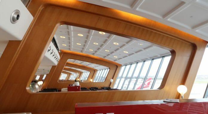 Sydney Qantas First Class Lounge