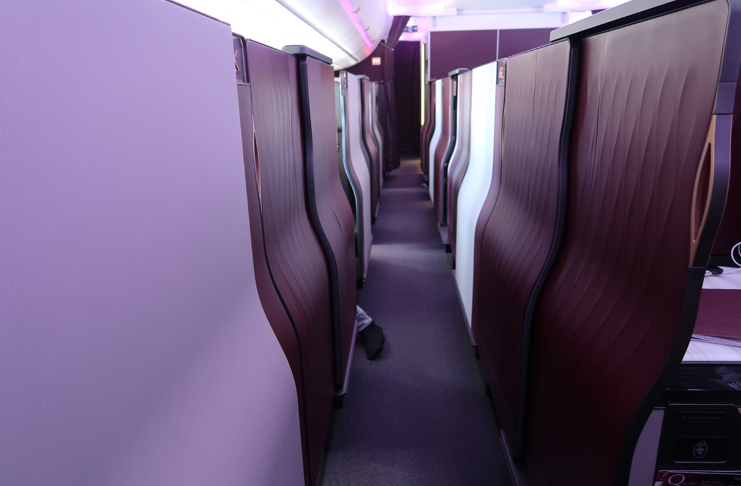 Qatar Airways A350-1000 Qsuite